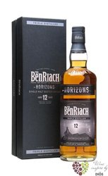 "BenRiach "" Horizons "" aged 12 years Speyside Single malt whisky 50% vol.    0.70 l"