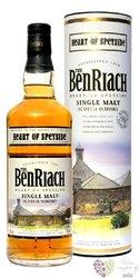 """BenRiach """" Heart of Speyside """" single malt Speyside whisky 40% vol.  0.70 l"""