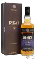 "BenRiach "" Dunder "" aged 22 years Speyside single malt whisky 46% vol.  0.70 l"