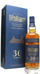 BenRiach aged 30 years Speyside single malt whisky 46% vol.  0.70 l