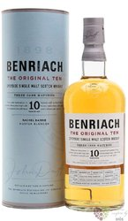 "BenRiach "" the Original Ten "" aged 10 years Speyside whisky 43% vol.  0.70 l"