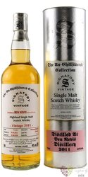 "Ben Nevis 2010 "" Signatory UnChilfiltered "" Highland whisky 46% vol.0.70 l"