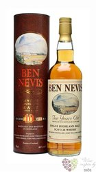 Ben Nevis 10 years old single malt Highland whisky 46% vol.   0.70 l