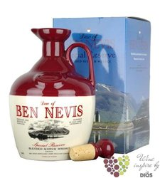 "Ben Nevis "" Special Reserve Blend "" decanter of premium blended Scotch whisky 40% vol.    0.70 l"