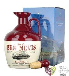 "Ben Nevis "" Special Reserve Blend "" decanter of premium blended Scotch whisky 40% vol.  0.70 l"