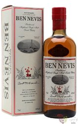 "Ben Nevis "" Traditional McDonald´s "" Highland whisky 46% vol.  0.70 l"