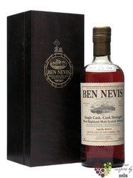 "Ben Nevis 1998 "" Cask 586 "" bott. 2013 aged 15 years Highlands whisky 56.1% vol.  0.70 l"