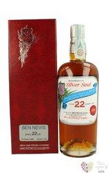 "Ben Nevis 1990 "" Silver Seal "" aged 22 years single malt Highland whisky 60.4% vol.    0.70 l"