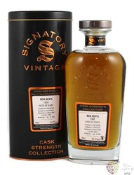 "Ben Nevis 1991 "" Signatory vintage cask strength "" aged 24 years Highland whisky 54.7% vol.  0.70 l"