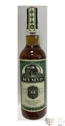 "Ben Nevis 1970 "" Jack Wieber old train line "" aged 43 years Highlands whisky 44.6% vol.  0.70 l"