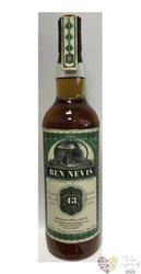 "Ben Nevis 1970 "" Jack Wieber old train line "" aged 43 years Highlands whisky 44.6% vol.  0.70 l"