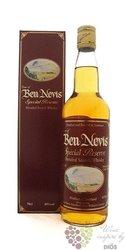 """Ben Nevis """" Special Reserve Blend """" blended Scotch whisky 40% vol.    0.70 l"""
