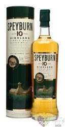 Speyburn 10 years old Single malt Speyside whisky 43% vol.    1.00 l