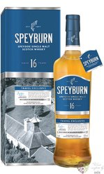 Speyburn 16 years old Speyside whisky 43% vol.  1.00 l