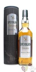 "Speyburn "" Solera "" aged 25 years single malt Speyside whisky 46% vol.    0.70 l"