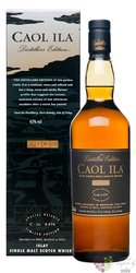 "Caol Ila 2001 "" Distillers edition 2013 "" single malt Islay whisky 43% vol.  0.70 l"
