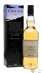 """Caol Ila """" Unpeated special releases 2016 """" aged 15 yeas Islay whisky 61.5% vol.  0.70 l"""