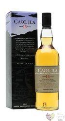 "Caol Ila 1998 "" Natural cask strength "" aged 15 years single malt Islay whisky 55% vol.  0.70 l"