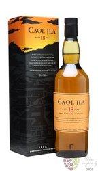 Caol Ila 18 years old Single malt Islay whisky 43% vol.  0.70 l