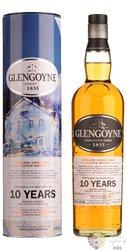 "Glengoyne art "" Jolomo Winter Edition "" aged 10 years Highland whisky 40% vol.  0.70 l"