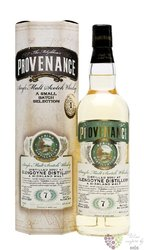"Glengoyne 2007  "" McGibbon´s Provenance "" aged 7 years by Douglas Laing & Co 46% vol.  0.70 l"