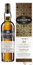 "Glengoyne "" Cuartillo "" single malt Highland whisky 40% vol.   1.00 l"