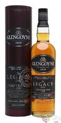 "Glengoyne Legacy "" Chapter One "" single malt Highland whisky 48% vol.  0.70 l"
