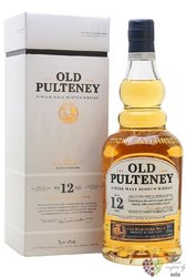 Old Pulteney 12 years old single malt Highland whisky 40% vol.  1.00 l