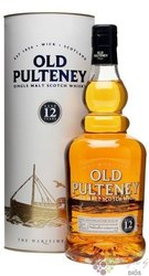 Old Pulteney 12 years old single malt Highland whisky 40% vol.   0.70 l