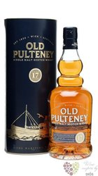 Old Pulteney 17 years old single malt Highland whisky 46% vol.    0.70 l