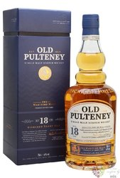 Old Pulteney 18 years old single malt Highland whisky 46% vol.  0.70 l