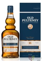 Old Pulteney 16 years old single malt Highland whisky 46% vol.  0.70 l