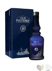 Old Pulteney 40 years old single malt Highland whisky 51.3% vol.    0.70 l