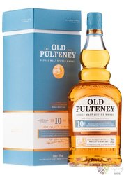 Old Pulteney 10 years old single malt Highland whisky 40% vol.  1.00 l