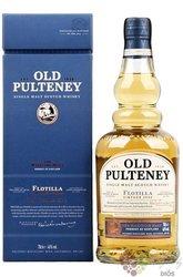 "Old Pulteney 2008 "" Flotilla "" single malt Highland whisky 46% vol.  0.70 l"