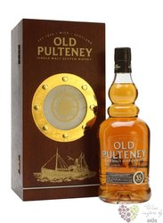 Old Pulteney 35 years old single malt Highland whisky 42.5% vol.    0.70 l