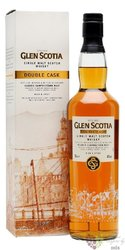 "Glen Scotia "" Double cask "" Campbeltown single malt whisky 46% vol.   0.70 l"