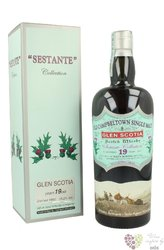 "Glen Scotia 1992 "" Silver Seal "" aged 19 years Campbeltown whisky 59.2% vol.0.70 l"