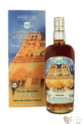 """Glen Scotia 1992 """" Silver Seal """" aged 22 years Campbeltown whisky 57.6% vol.   0.70 l"""