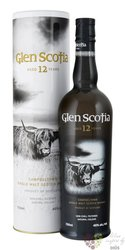Glen Scotia 12 years old Campbeltown Single malt whisky 40% vol.   0.70 l