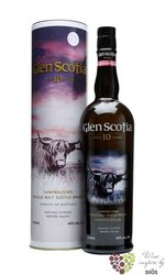 Glen Scotia 10 years old Campbeltown single malt whisky 46% vol.   0.70 l