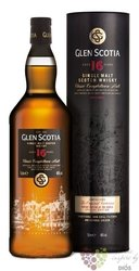 Glen Scotia 16 years old Campbeltown single malt whisky 46% vol.   0.70 l
