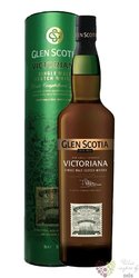 "Glen Scotia "" Victoriana bott. 2018 "" Campbeltown single malt whisky 51.5% vol.0.70 l"