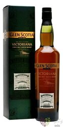 "Glen Scotia "" Victoriana "" Campbeltown single malt whisky 51.5% vol.   0.70 l"