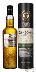 "Glen Scotia 2002 "" Vintage Ltd. release No.2 Crosshill Loch "" Campbeltown whisky 46% vol.  0.70 l"