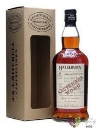 "Hazelburn 2002 "" Sauternes wood "" aged 8 years Campbeltown whisky by Springbank55.9% vol.    0.70 l"