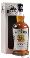 "Hazelburn 12 years old "" 2010 Release "" Campbeltown whisky by Springbank 46% vol.  0.70 l"