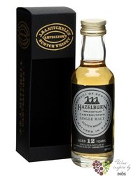 "Hazelburn 12 years old "" 2010 Release "" Campbeltown whisky by Springbank 46% vol.  0.05 l"