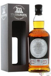 """Hazelburn """" Oloroso Sherry wood """" aged 13 years Campbeltown whisky by Springbank 47.1% vol.  0.70 l"""