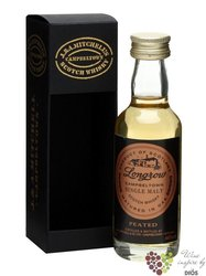 Longrow 10 years old Campbeltown single malt whisky by Springbank 46% vol.    0.05 l